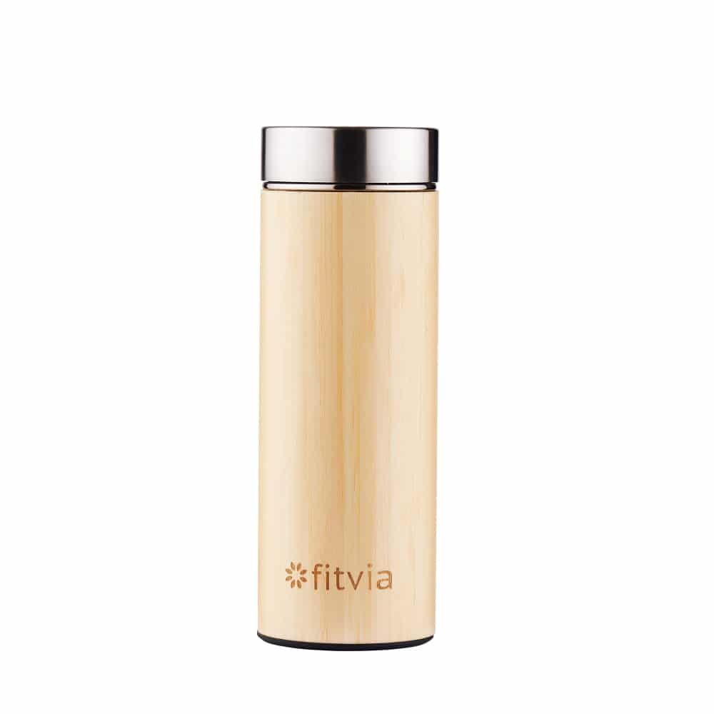 Bamboo Thermos To-Go