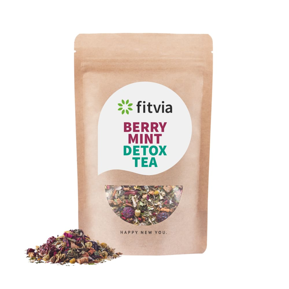 Raspberry Mint Detox Tea 187 Fitvia